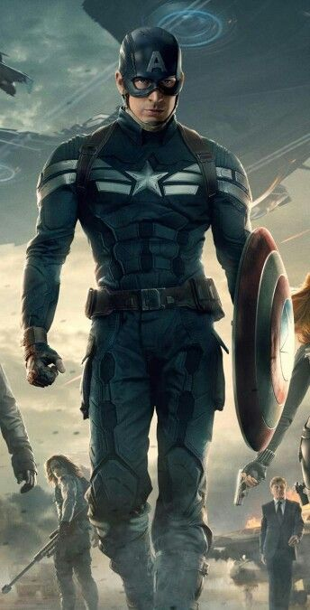 Captain America 2 - Stealth Suit
