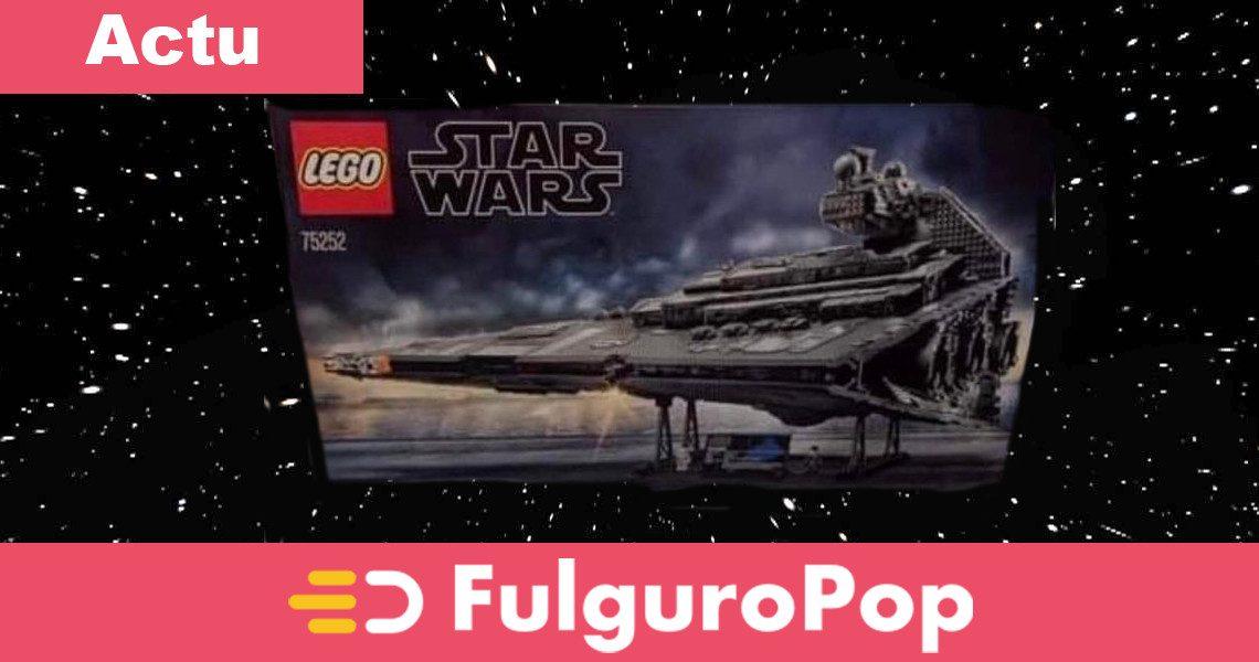 LEGO Star Wars : 75252 Star Destroyer UCS en image - FulguroPop