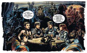 la rencontre de valerian et skywalker
