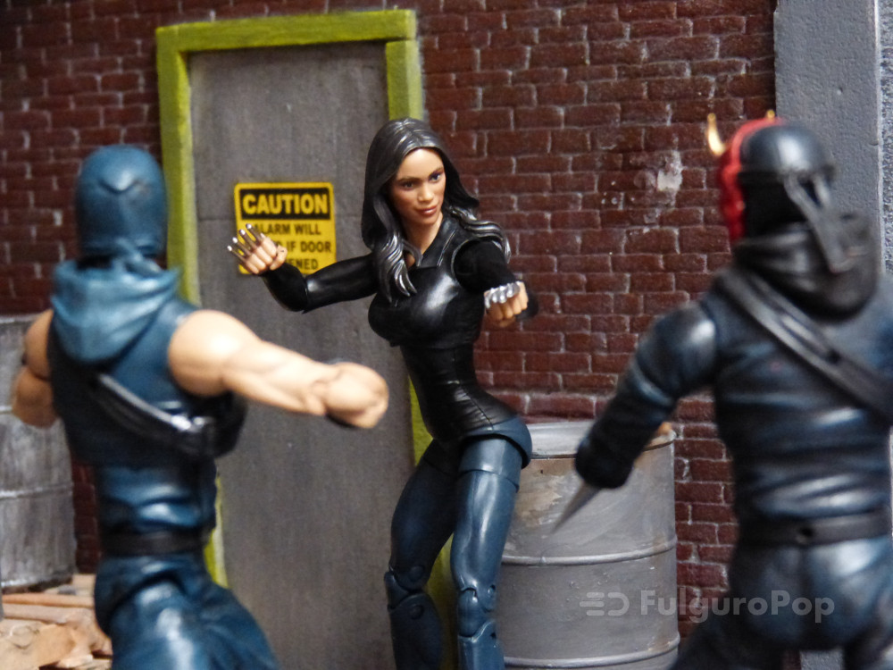 Claire Temple vs ninjas