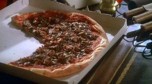 la pizza de Hold-up