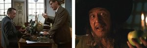 les pommes d'Indiana Jones et de Barbossa
